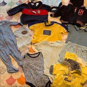 Baby boy 6-9 mo outfits bundle